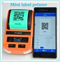 Label printer Nieuwe Mini Printers Telefoon WIFI Remote Draadloze Verbinding Printers Thermische Printers voor F-type  t-type  platte kabel
