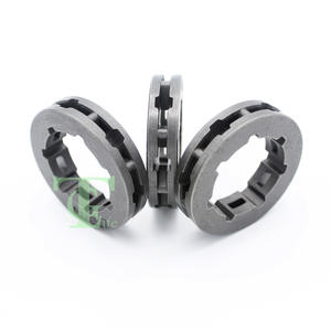 Engrasador de bomba de aceite Pi/ñ/ón de llanta Engranaje de tornillo Kit para Husqvarna 61 66 266 XP 268 272 272XP Motosierra
