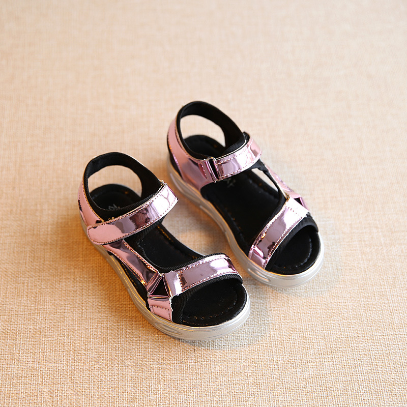 64aed1914e0c3 ... AIKELINYU 2017 Summer baby shoes girl sandals for Children Casual  leather Sandals Chaussures Enfants Filles Boys ...