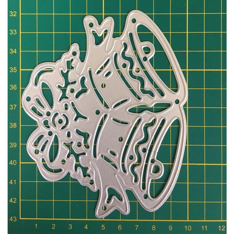 cartoon bell Metal Cutting Dies Stencil for DIY Scrapbooking Photo Album Paper Card Decorative Craft Diecuts merry christmas