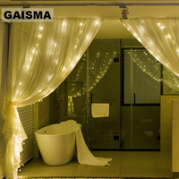 10M x 1.5M 480 Bulbs Christmas LED Curtain Lights Garland Wedding Decorations Fairy Lights Party Home New Year Holiday Lighting