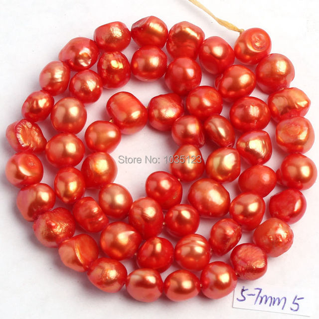 18Color 5-7mm Natural Freshwater Pearl Beads 4