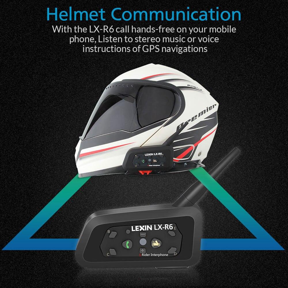 Motorcycle 1PC Intercom Lexin 8