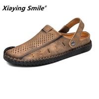 2018 Hot Sale Summer Classic Men Outdoor Casual Flats Sandals Fashion Summer Beach Shoes Cheap Top