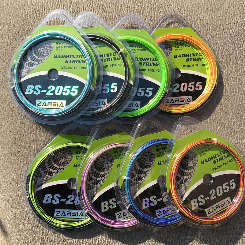 1 Pc ZARSIA RBS-2055 Rainbow Badminton Racket Strings Badminton Strings  0.7MM 8 Colors