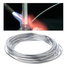 2.00mm*10m Aluminum Cored Flux Wire Welding Aluminum Tube Evaporator Condenser Welding Low Temperature Aluminum Welding Rod