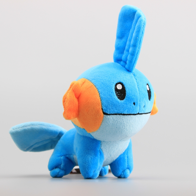 Promotional Mudkip Soft Stuffed Dolls Anime Cute Plush Toys 6