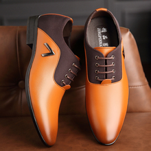 OSCO Mens Luxury Formal Leather Shoes