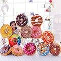 1 PC Criativo Requintado Toys10-Color Lindo Amor Rosquinha Donut Almofadas Almofadas de Pelúcia Recheado Presentes de Aniversário Brinquedos de Pelúcia Para As Crianças