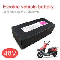 Kanavano 48 Вольт заднее крепление, для аккумулятора, литиево ионная батарея ebike 48 V 8Ah LiFePO4 для горных велосипедов eletric vehicle 18650