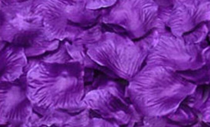100pcs Lot Artificial Decorative Flower Rose Petals Wedding Party