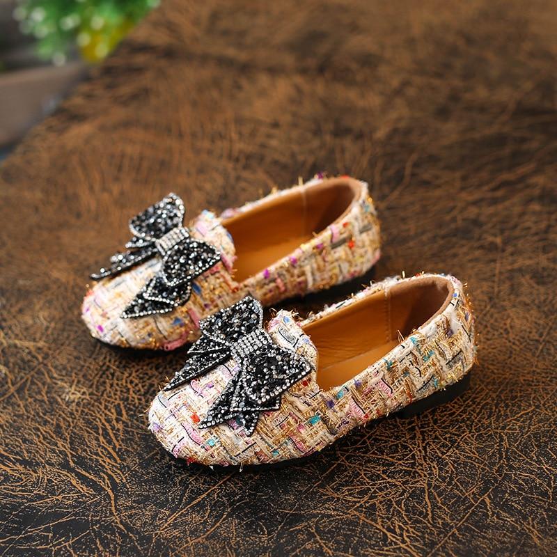 Lente 2018 Nieuwe kinder schoenen Meisjes Schoenen Mode Schattig Boog - Kinderschoenen - Foto 1
