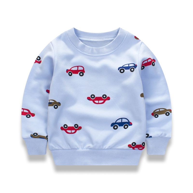 2017 autumn and winter hoodies children's car sweatshirts new child boy girl hoodies fashion casual warm outdoor clothing 1-10Y