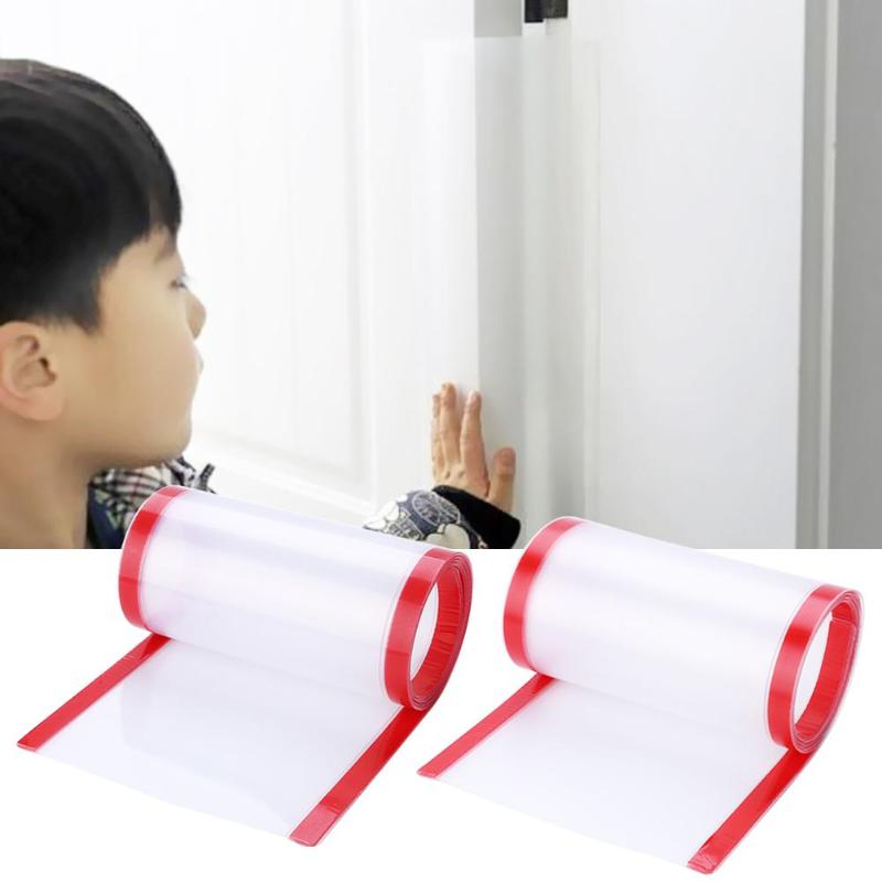 Kids Safety Door Corner Protection Strip Sticker Baby Hand Protection Seamless Double-sided Sticker Window Gap Anti-pinch Guards