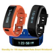 Новый XR01 спортивные группы Водонепроницаемый IP68 браслет OLED Сенсорный экран Bluetooth браслет монитор сердечного ритма в режиме ожидания 100 дней
