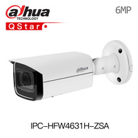 Dahua 6MP IP Camera IPC HFW4631H ZSA Upgrade version of IPC HFW4431R Z with Build in Microphone SD Card slot PoE Camera 6mp