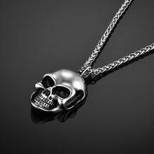Мужские ожерелья со скелетами и черепами мужские готические