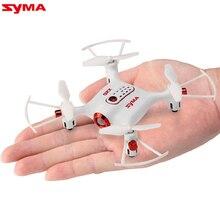 Syma вертолет беспилотный 6-aixs гироскопа 2.4 г 4ch дистанционного управления quadcopter карман дрон мини rc самолет с функцию hover x20
