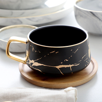Cat feces Coffee Cups Italian Condensed Coffee Ceramic Cup Saucer Suit afternoon tea Cup Small Coffee Cup with dish spoon Set