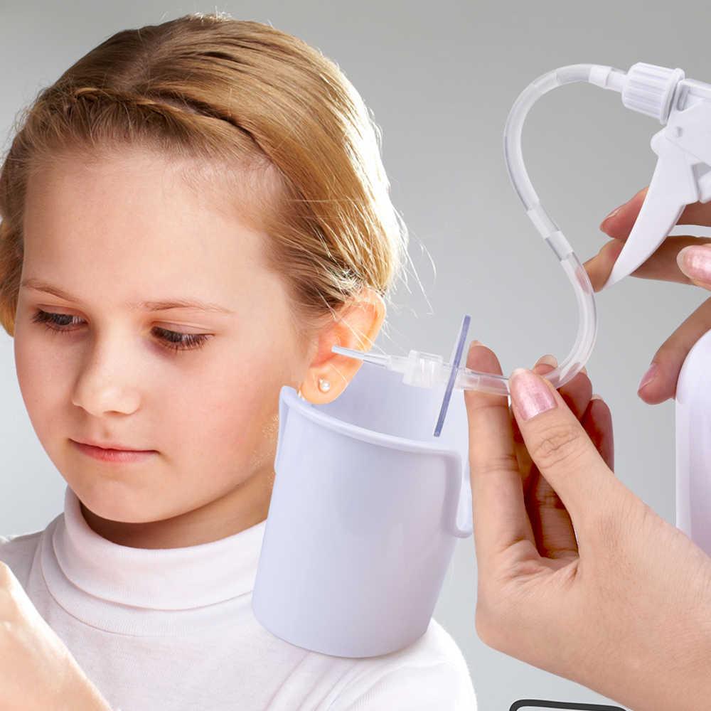 AGDOAD אוזן שעוות ניקוי כלים משפחה להשתמש שעוות אוזן הסרת ערכת אוזן שעוות השקיה אוזן מנקה למבוגרים ילדי בריאות