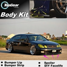 Bumper Lip Deflector Lips For Lexus GS 250 300 350 400 430 450h For TOYOTA Aristo