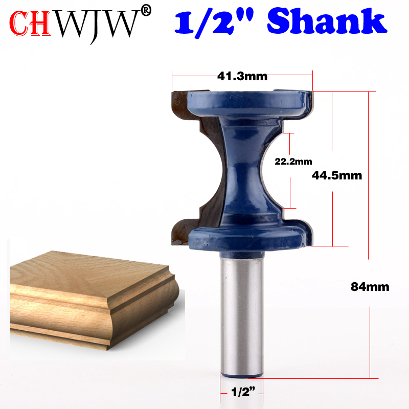"1PC 1/2"" Shank High Quality Large Bullnose & Bead Router"