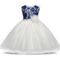 Flower Baby Girl Tutu Dress Wedding Princess Christmas Costume Party Kids Dress For Girls Clothes Christening