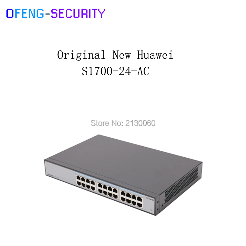 Huawei S1700-24-AC 100M port Network no Management 24-port Switch Shell with 10/100Mbps corsn cs 1008g 8 port 100mbps 1000mbps switch blue