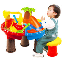Summer Baby Toys Sand Water Play Beach Table Interactive Beach Water Play Toys Sand Dune Tool for Kids Educational Toys
