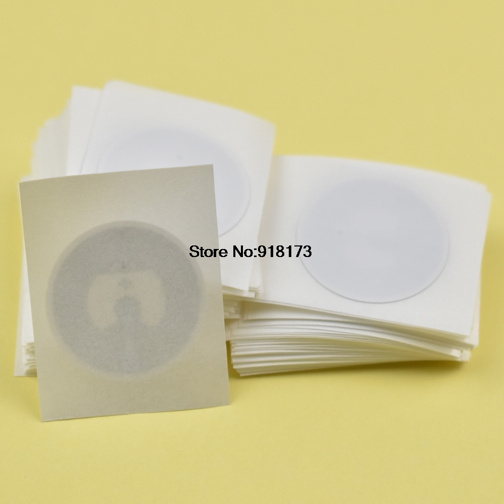 100pcs Larger Capacity NFC Tags RFID Label, Classic 1k F08 NFC Sticker 1000pcs larger capacity nfc tags rfid label classic 1k f08 nfc sticker for galaxy s3 nokia and most andriod nfc phone 768 bytes