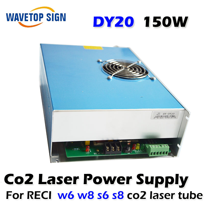 DY20 Co2 Laser Power Supply For RECI  W6 W8 S6 S8 Co2 Laser Tube Engraving  Cutting Machine 10 6 um co2 laser cutting machine diy parts 40w 60w 80 100w 130w 150w laser tube laser power supply fix tools