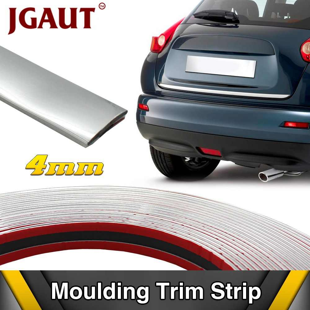 3meters x 4/6/8/10/12/15/18/20/25/30mm Car Grilles Doors Cover Handle Window Chrome Decoration Strip Trim Self-Adhesive