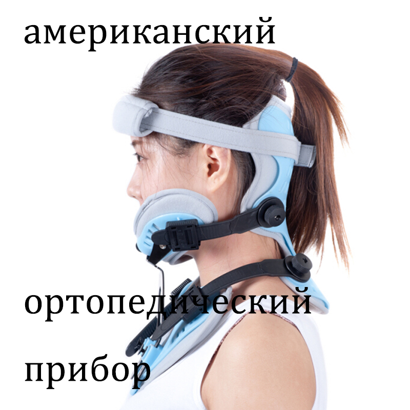 American Comfort Elite Cervical Orthosis Cervical Collar Neck Brace Medical Orthosis Orthopedic Protector High Quality oper adjustable medical hinged knee orthosis brace support ligament sport injury orthopedic splint osteoarthritis knee pain pads
