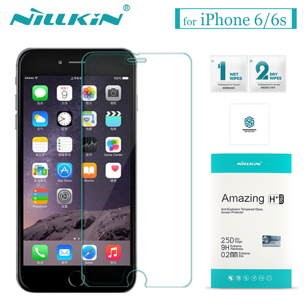 Nilkin for iPhone 6s 6 Tempered Glass Nillkin 9H Amazing H / H+Pro Screen Protector Film f