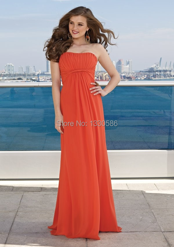 Online Get Cheap Orange Bridesmaid Dresses -Aliexpress.com ...
