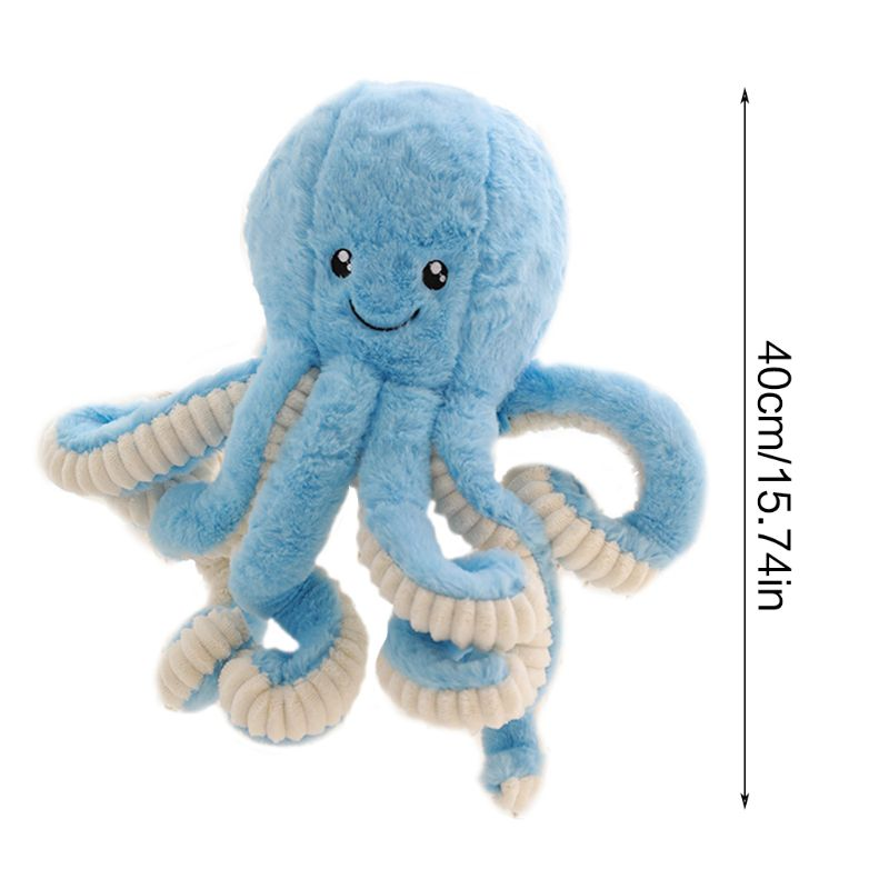 Premium New 1PC Cute Marine Life Octopus Baby Plush Toy Doll Multicolor Optional Dolls