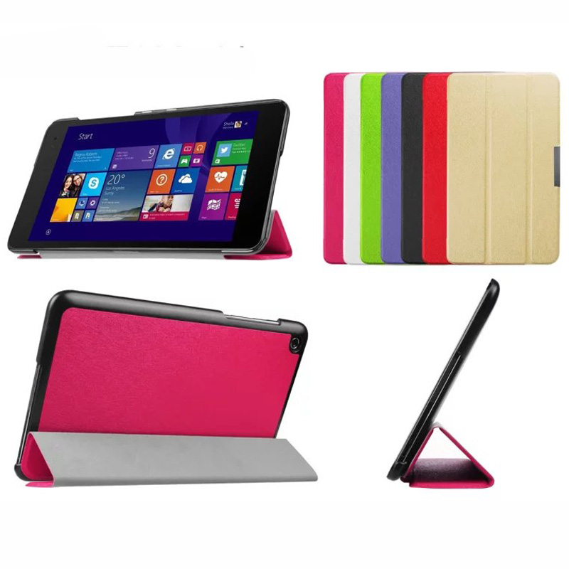3-Folding Silk Ultra Thin Slim Magnetic Folio Stand Leather Case Smart Cover For ASUS Transformer Book T100 Chi T1 Chi 10.1 luxury ultra thin slim folio stand