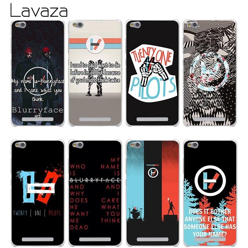 Lavaza Twenty One Pilots 21 Pilots Cover Case for Xiaomi Redmi Note 2 3 4 Pro Prime 4A 4X 3S Mi 5 5S 6 Plus mi6 mi5 S mi5s Cases