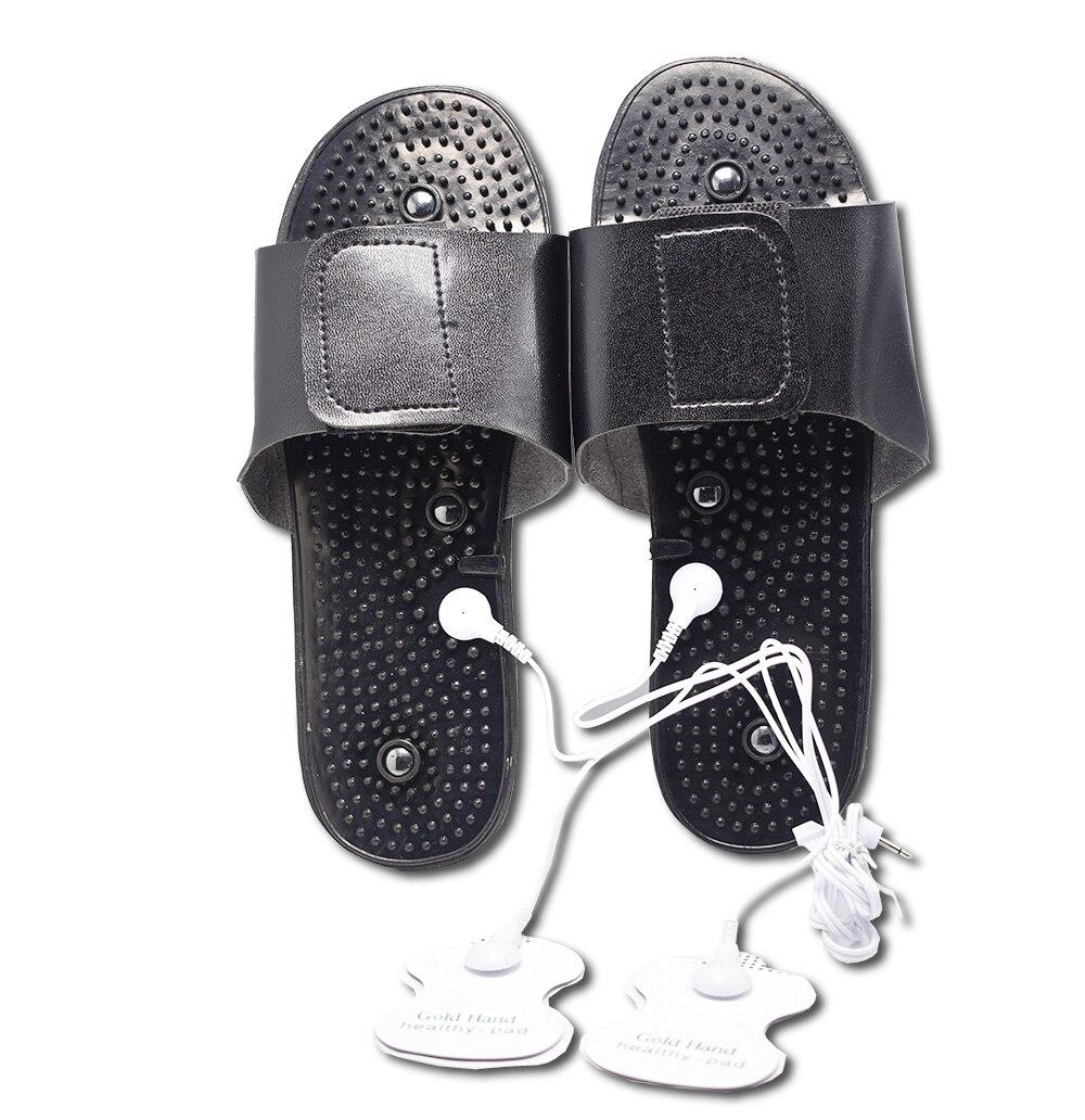 JR-309 meridiano digital de massagem com chinelos
