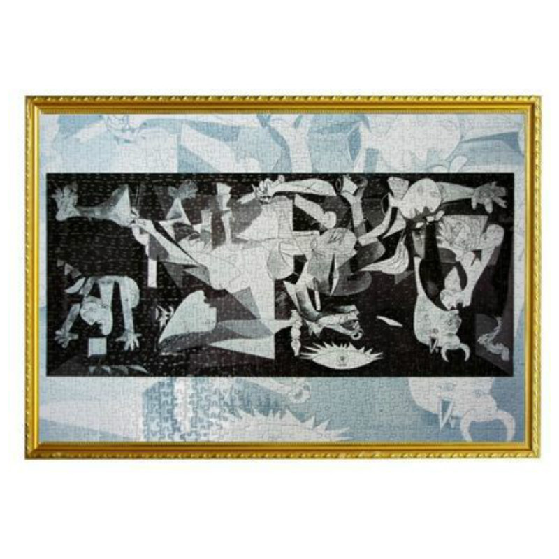 """Famoso Paniting Il """"Guernica"""" da Picasso Di Puzzle Giocattolo di Decompressione Carta Di Puzzle 1000 Pezzi Jigsaw Puzzle per Adulti"""