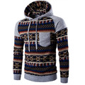 Autumn Witer Men's Fashion Bohemia Retro Hooded Hoodies Sweatshirt Male Comfortable Cotton Slim Fit Coats Tops Outwear Oct25