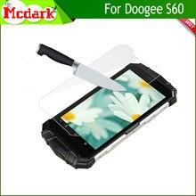 Mcdark 2.5D de vidrio templado 9H para Doogee S60 Protector de pantalla de 5,2 pulgadas para Doogee S60 templado teléfono película de cubierta de vidrio