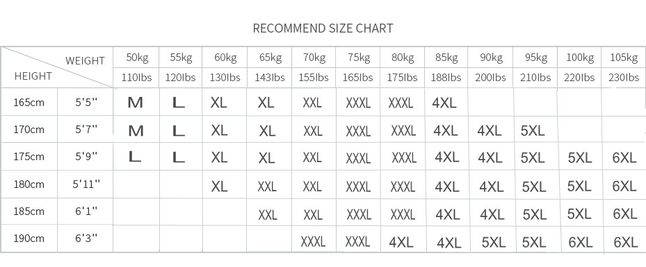 shirt size table_conew1