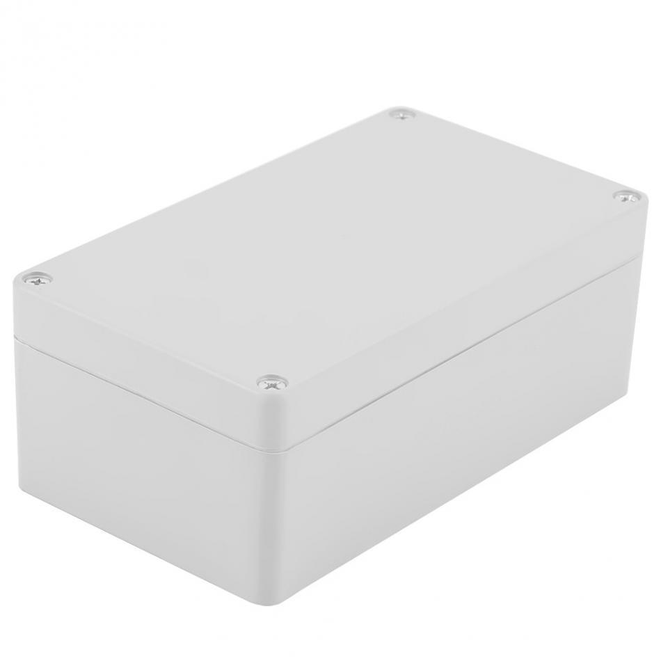 Водонепроницаемый пластиковый корпус коробка электронный проект инструмент чехол Электрический проект коробка открытый распределительная коробка корпус