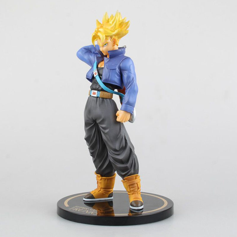 Dragon Ball Z Trunks Super Saiyan Action Figures PVC Doll 23CM Dragonball Figure F.ZERO Limited Edition Super Saiyan Figure free shipping japanese animation cool dragonball z super saiyan trunks 23cm 9 2 pvc figure new in box
