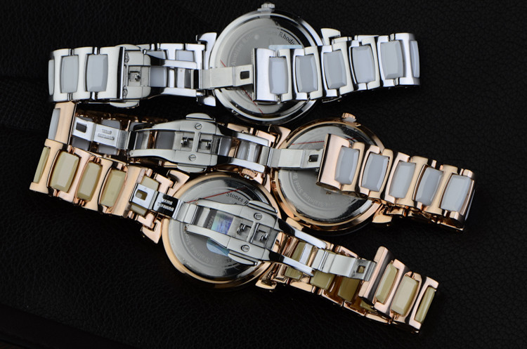 quartzo roman negócio relógio relógio pulso moda vestido relogio montre femme