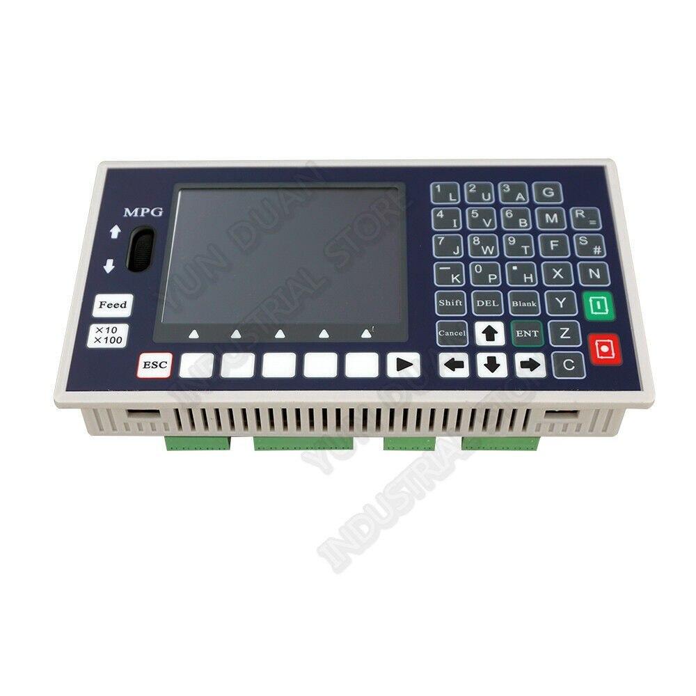 Controlador de Movimento Independente para Servo Eixos Xyzc Código Cnc 3.5 400 Khz Mpg Offline Motorista Motor Passo Gravura Roteador 4 g