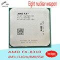 Настольных Процессоров AMD FX 8310 Восемь-Ядерный ПРОЦЕССОР 3.4 Г/8 М/95 Вт Socket AM3 + ПРОЦЕССОР FX-8310 Навальный Пакет (работает 100% Бесплатная Доставка) Новый