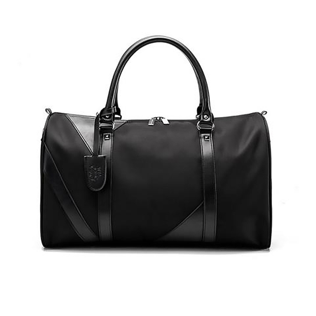 Bolsa de viaje nueva moda impermeable de nailon para hombre bolsas de viaje de noche bolsa de viaje de fin de semana bolsa de viaje grande bandolera bolsas de viaje