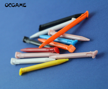 Ocgame para novo 2dsxl ll caneta sensível ao toque de plástico tela toque caneta stylus para nintendo novo 2ds ll xl caneta toque 200 pçs/lote
